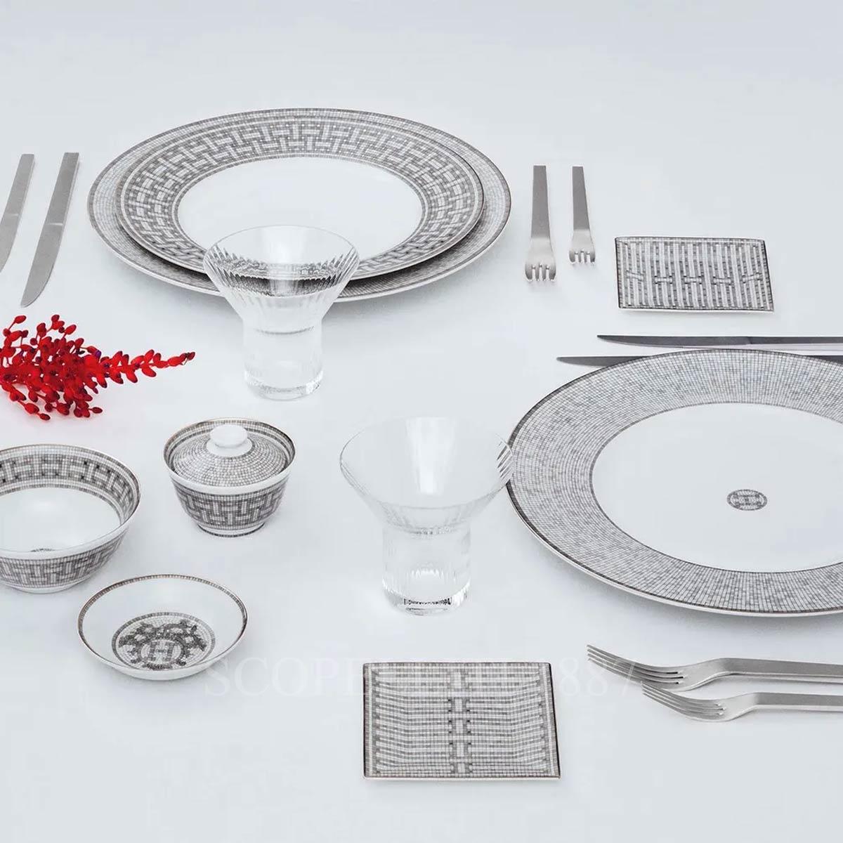 hermes yacht tableware