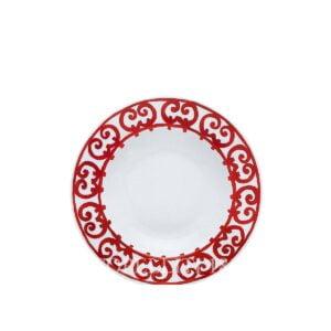 hermes limoges porcelain balcon du guadalquivir soup plate