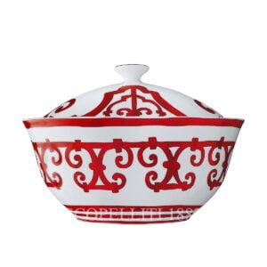 hermes limoges porcelain balcon du guadalquivir soup tureen