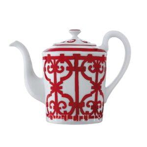 hermes limoges porcelain balcon du guadalquivir teapot
