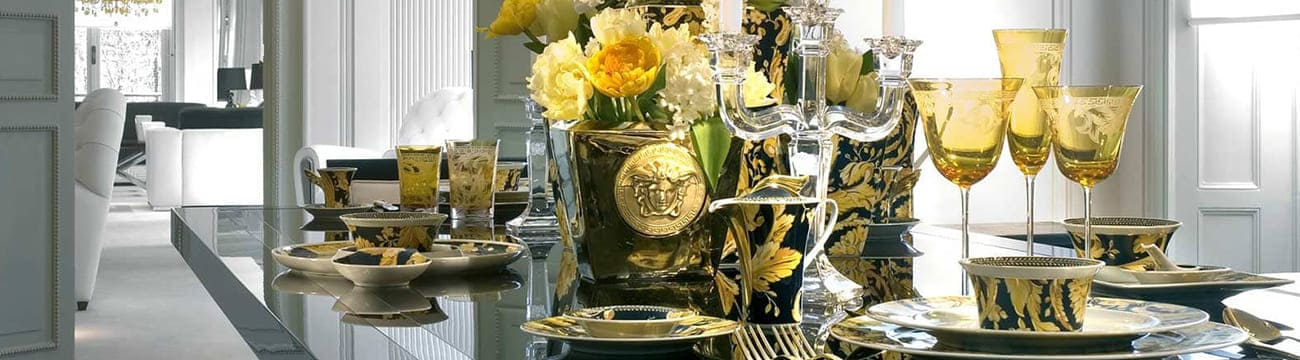 versace vanity porcelain collection