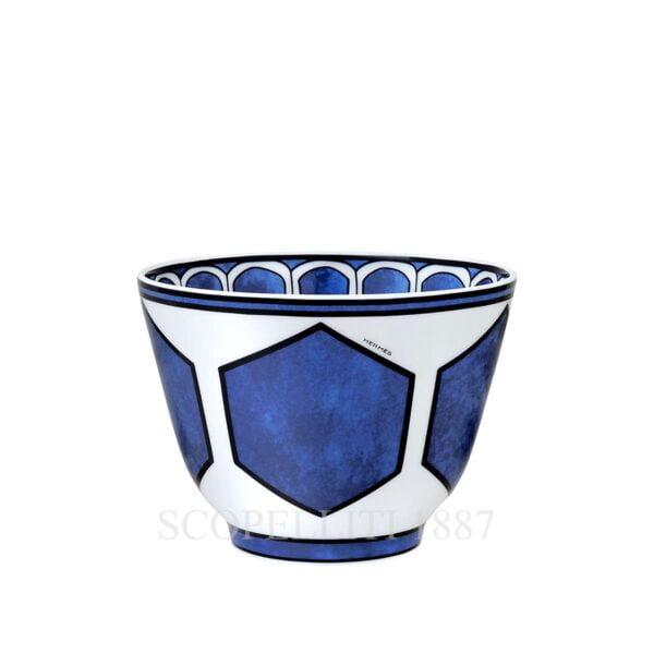 hermes bleus d ailleurs bowl limoges porcelain