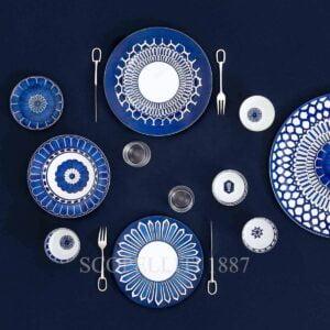 hermes porcelain limoges bleus d ailleurs collection