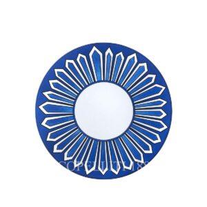 hermes limoges porcelain bleus d ailleurs dinner plate
