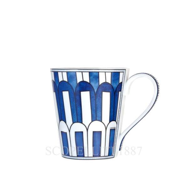 hermes limoges porcelain bleus d ailleurs mug n3