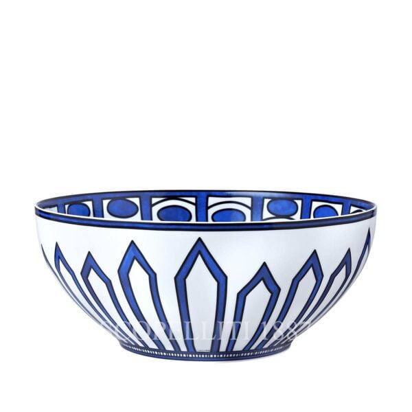 hermes porcelain bleus d ailleurs salad bowl large