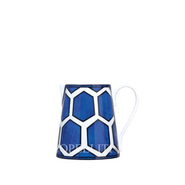 hermes bleus d ailleurs sauce boat limoges porcelain