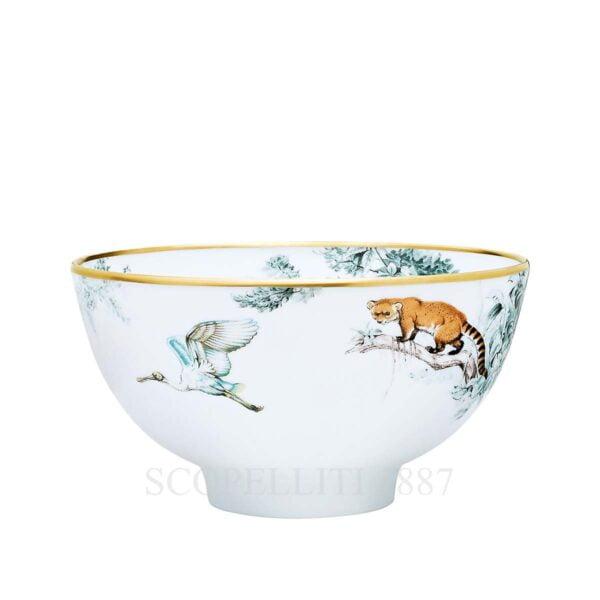 hermes limoges porcelain carnets d equateur bowl large