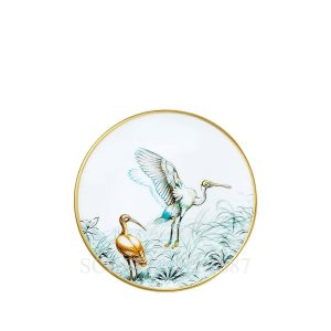 hermes limoges porcelain carnets d equateur bread and butter plate
