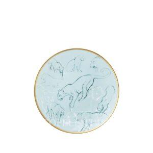 hermes limoges porcelain carnets d equateur bread and butter plate