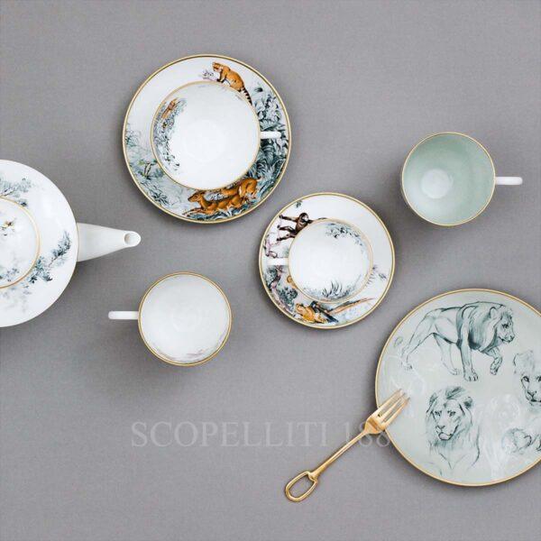 hermes limoges porcelain carnets d equateur collection