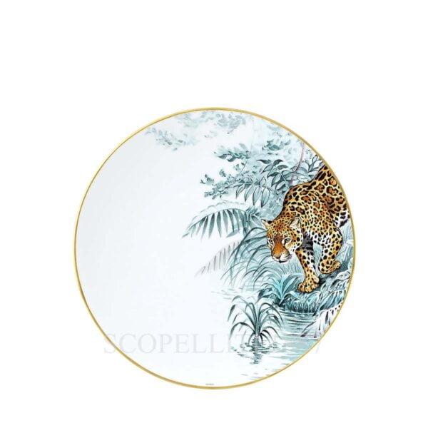 hermes limoges porcelain carnets d equateur dinner plate