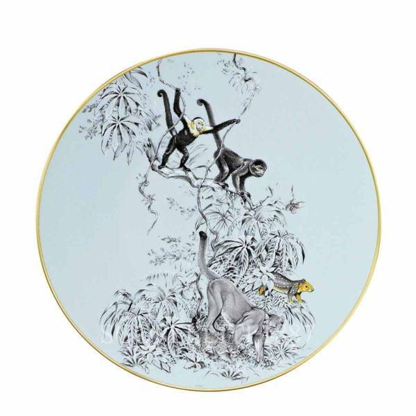 hermes limoges porcelain carnets d equateur presentation plate