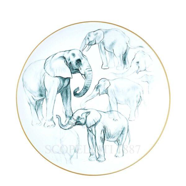 hermes limoges porcelain carnets d equateur large centerpiece