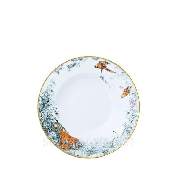 hermes limoges porcelain carnets d equateur soup plate