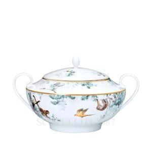 hermes limoges porcelain carnets d equateur soup tureen