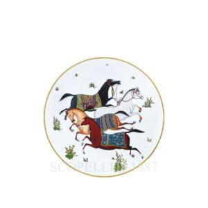 hermes limoges porcelain cheval d orient dessert plate