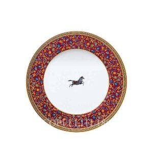 hermes limoges porcelain cheval d orient dinner plate