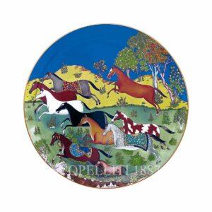hermes limoges porcelain cheval d orient tart platter