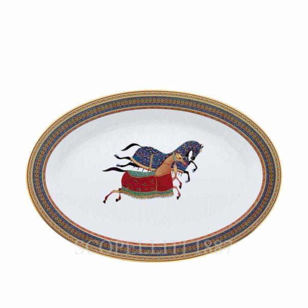 hermes limoges porcelain cheval d orient vegetable dish
