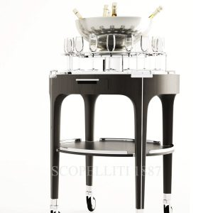 christofle champagne cart new
