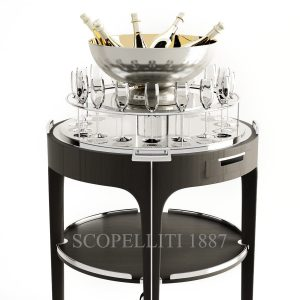 christofle champagne trolley