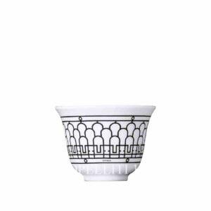 hermes limoges porcelain h deco cup mini model