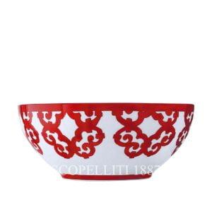 hermes limoges porcelain hermes balcon du guadalquivir salad bowl