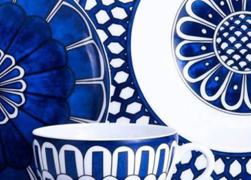Hermes Blue & White China