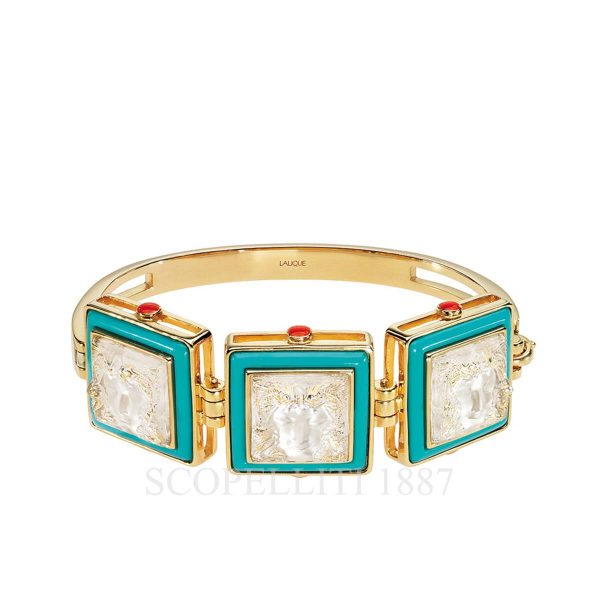 lalique crystal bracelet arethuse collection