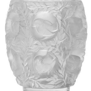 lalique bagatelle vase crystal clear