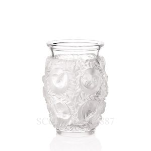 lalique bagatelle vase crystal clear small