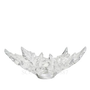lalique crystal bowl small champs elisees