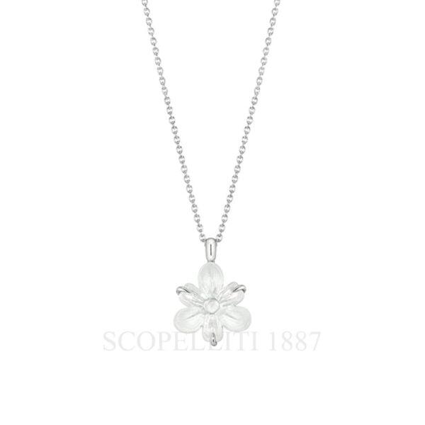 lalique fleur de neige small pendant2 10610000