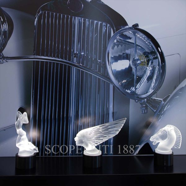 lalique crystal lighted sculptures