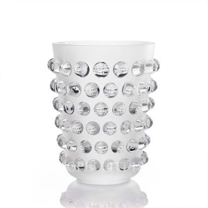 lalique clear crystal mossi xxl vase