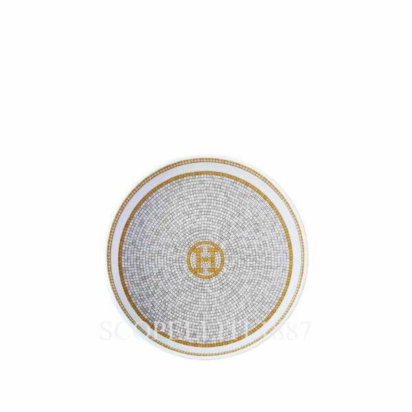 hermes limoges porcelain mosaique au 24 gold small bowl