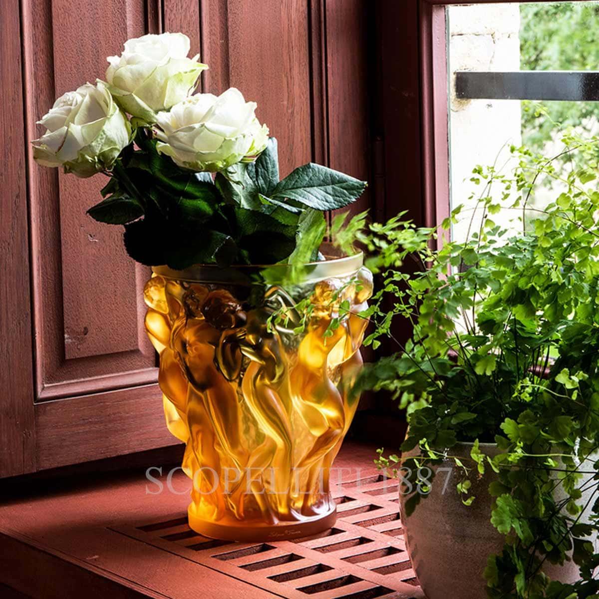 lalique crystal vase limited edition bacchantes