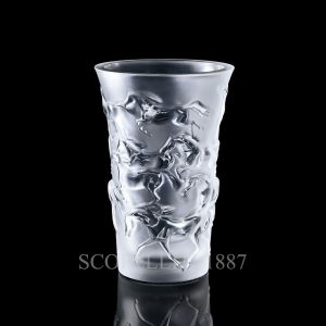 lalique crystal vase mustang