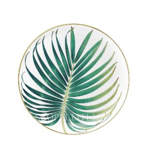 hermes passifolia palm plate