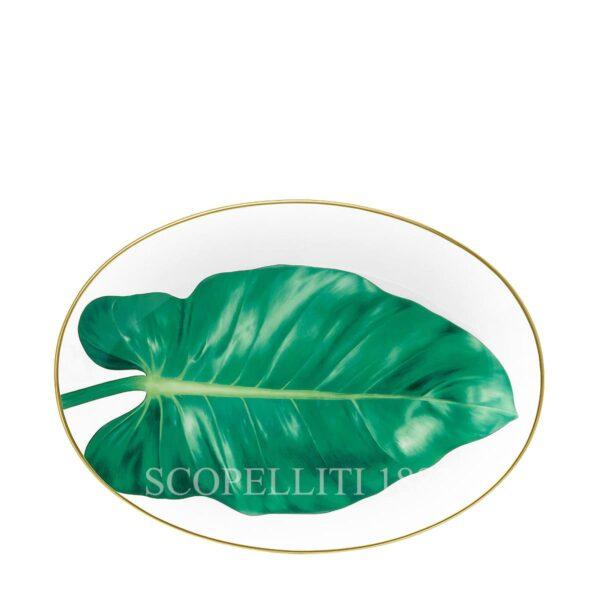 hermes porcelain new decor passifolia oval platter