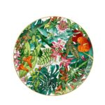 hermes porcelain new decor passifolia round plate
