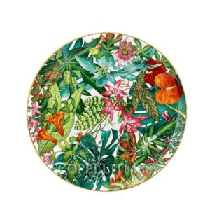 hermes porcelain new decor passifolia round plate