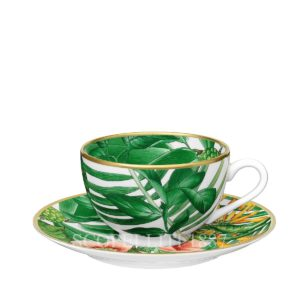 hermes porcelain new decor passifolia tea cup