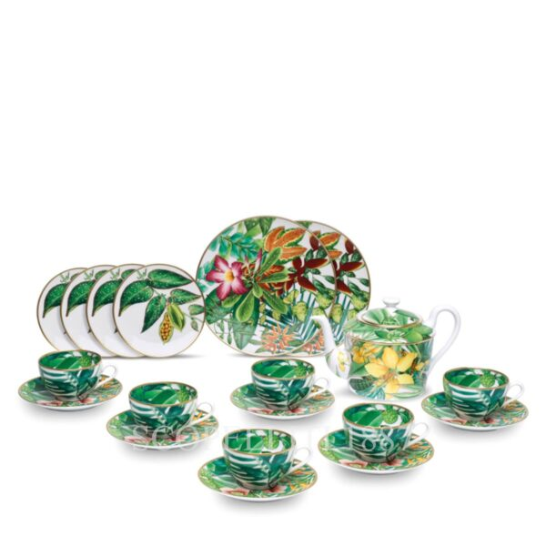 hermes passifolia tea cups