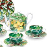 hermes passifolia tea cups