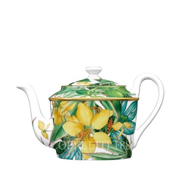 hermes passifolia porcelain teapot