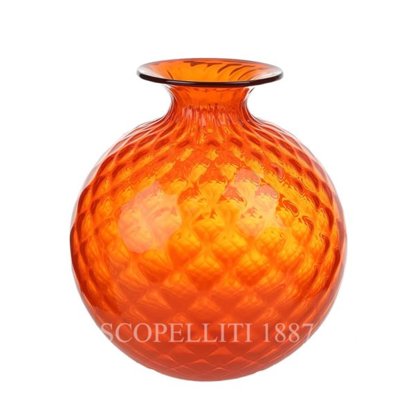 venini balloton monofiore orange