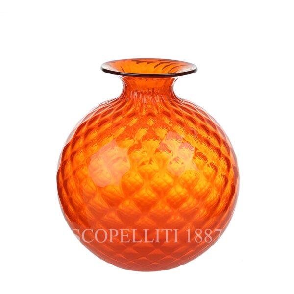 venini balloton monofiore orange