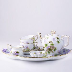 herend william and kate decor tea set